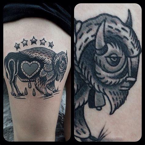 matthew houston vancouver tattoo buffalo tattoo pinterest