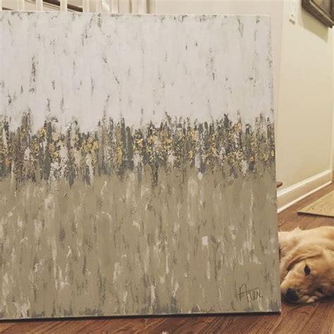 gray golden retriever puppies grey abstract painting with gold leaf golden retriever puppy alexandra nichols