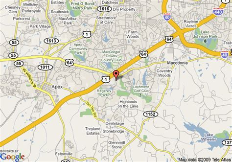 gander mountain cary nc directions map of residence inn by marriott raleigh cary cary