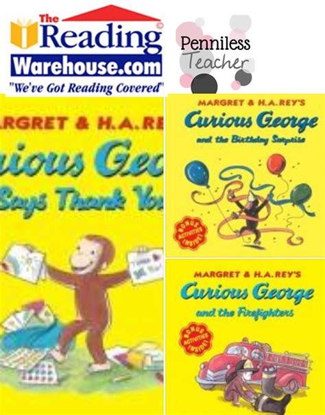Giveaway Titles - the reading warehouse curious george giveaway x 6 29 14