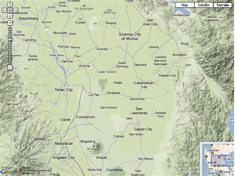 san jose tarlac map map tarlac 101