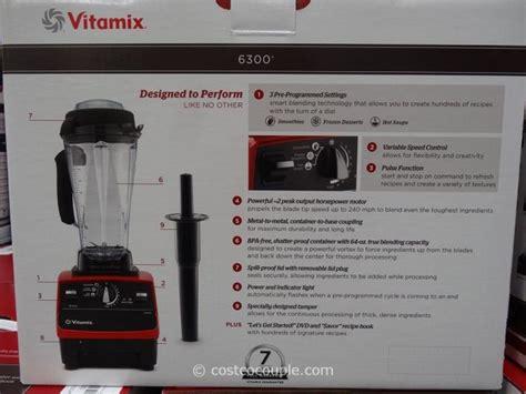 vitamix blender costco vitamix 6300