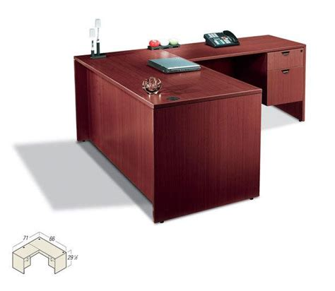 L Shaped Executive Office Desk Contemporary Executive Laminate L Shape Office Desk Ebay