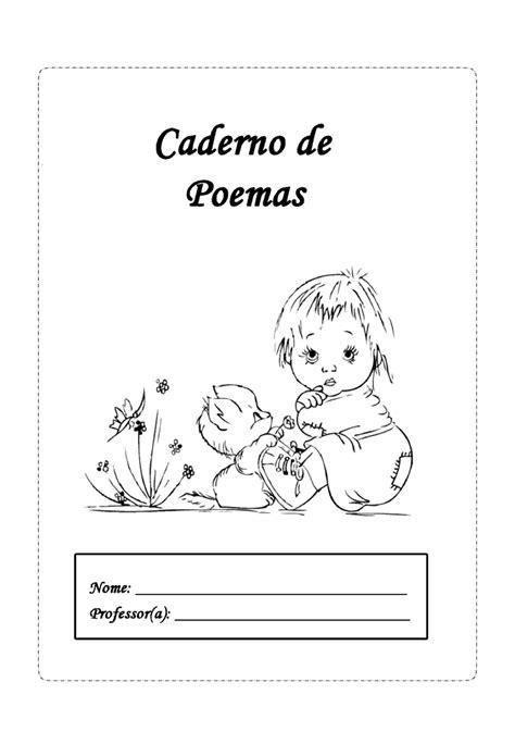 Capas de caderno em preto e branco para a Educação Infantil