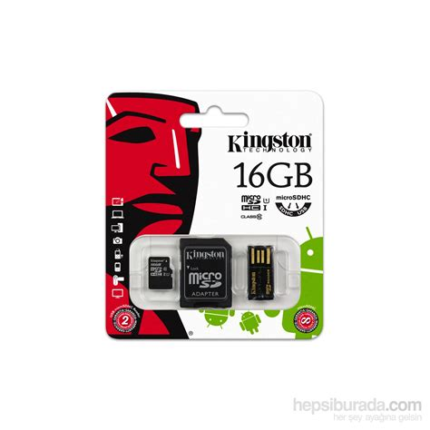 Micro Sd Kingston 16gb Class 10 kingston 16gb mobilty kit microsd class 10 sd usb