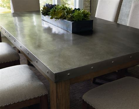 pleasant stainless steel dining room table brilliant