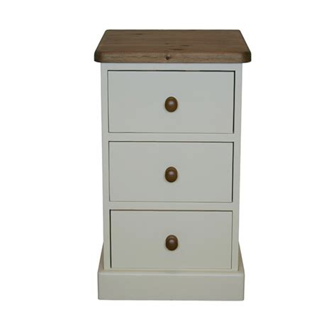 Narrow Bedside Table With Drawers Narrow Bedside Table With Drawers Ellis Painted Furniture Oak Narrow 3 Drawer Bedside Table