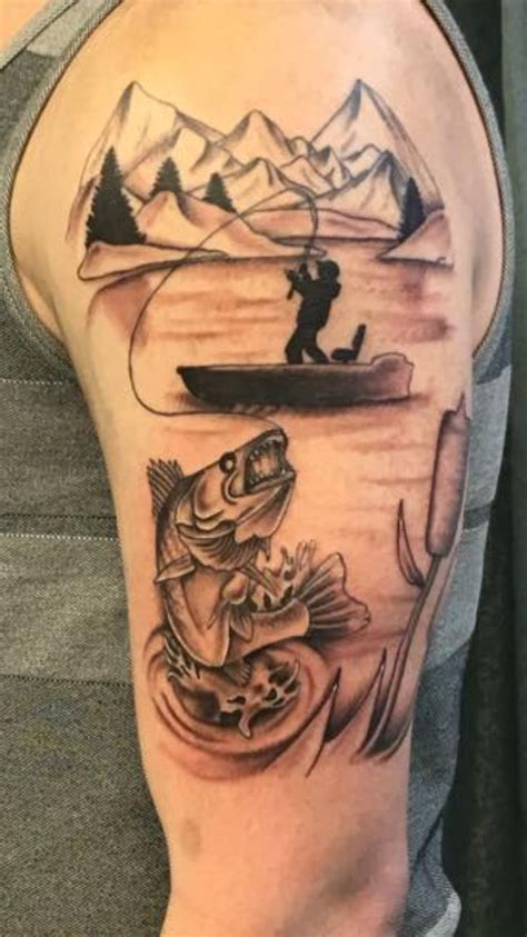 fishing tattoo ideas 25 best ideas about fisherman on grey