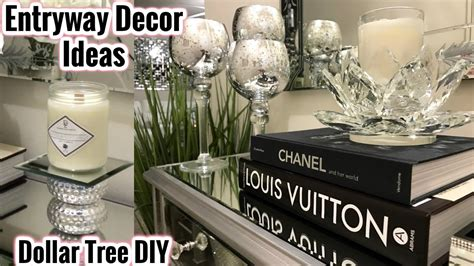 dollar tree home decor ideas glam mirror entryway decor ideas within dollar tree home