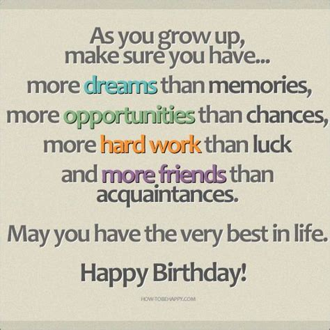 Quotes 21 Birthday Happy Birthday Inspirational Quotes 21 Birthday Wishes
