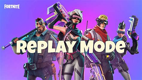 fortnite can t save replays fortnite s replay mode has arrived here s how to use it