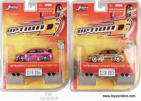Scion Tc White Option D Skala 1 64 diecast carstoy diecast cars wave 9 by toys