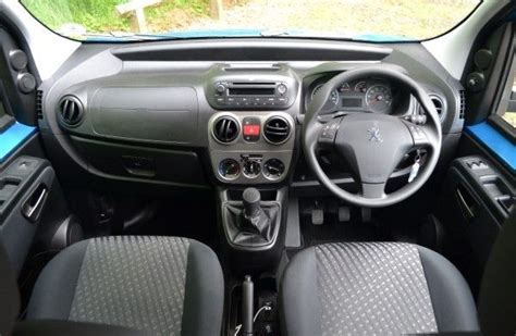 peugeot tepee interior 2013 peugeot bipper hdi diesel review carwow