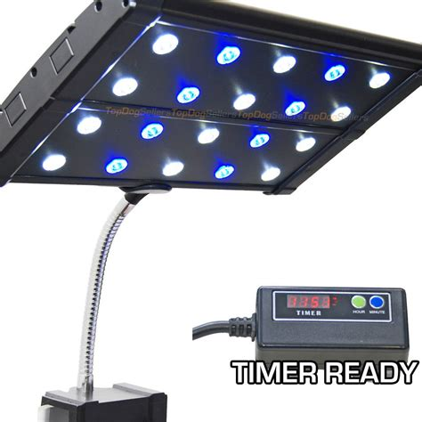 led clip on light aquarium evo quad clip 3w timer ready led aquarium light nano