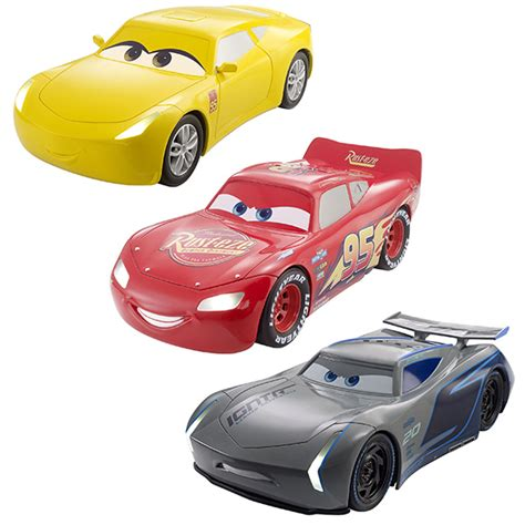 voiture 3 si鑒es auto cars 3 v 233 hicule et lumi 232 re miniature mattel king