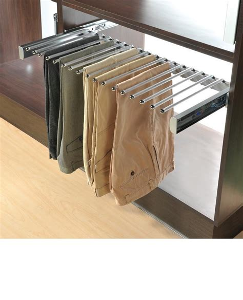 Pant Rack For Closet by Organizer Cabinet Pant Racks Closet Organizer Closet