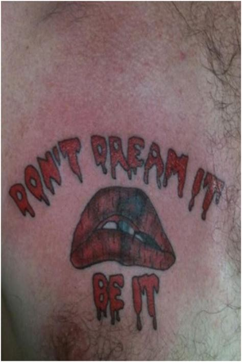 don t dream it be it tattoo top 15 worst chest tattoos