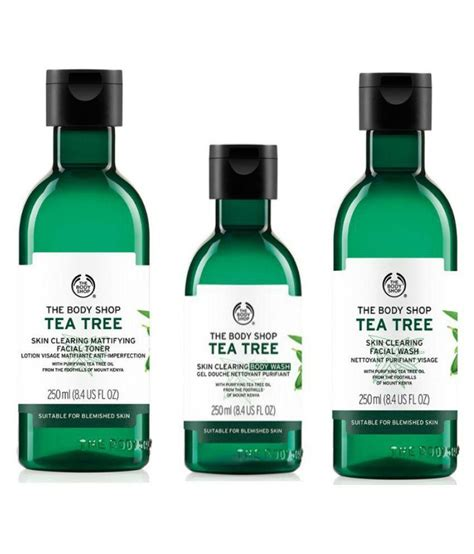 The Shop Tea Tree the shop tea tree kit lotion 300 gm buy the