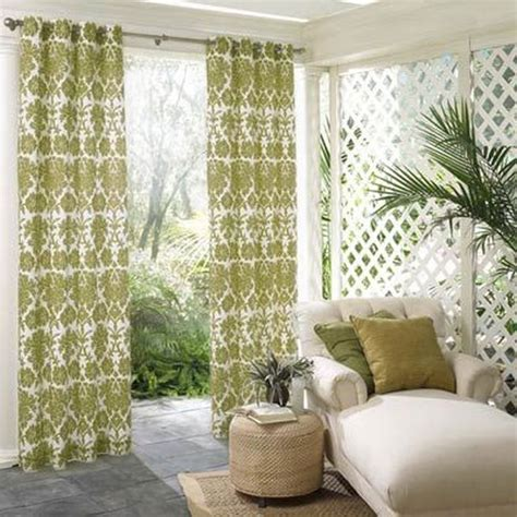 outdoor screen curtains 14 best images about grommet panels with fun tie backs on