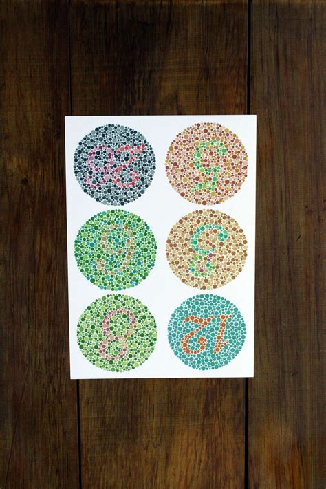 test your color vision colour vision color blindness test ishihara eye charts