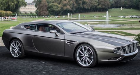 old aston martin zagato becomes latest coachbuilder to brake an aston