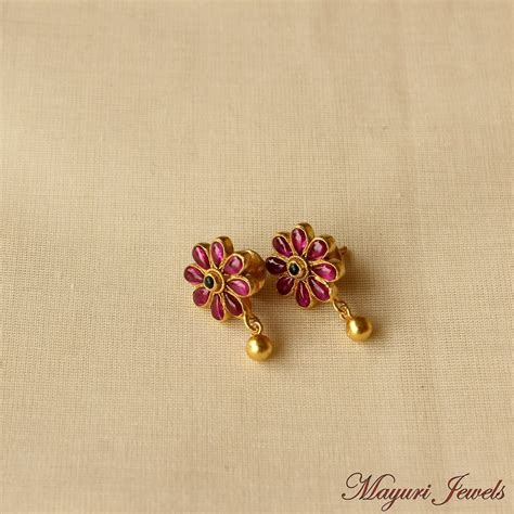 light weight gold earrings designs with price grt jewellery gold earrings designs jewelry ufafokus