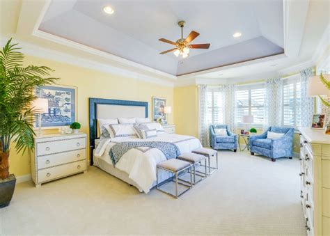 master bedroom tray ceiling ideas cheerful beach cottage with turquoise color scheme home