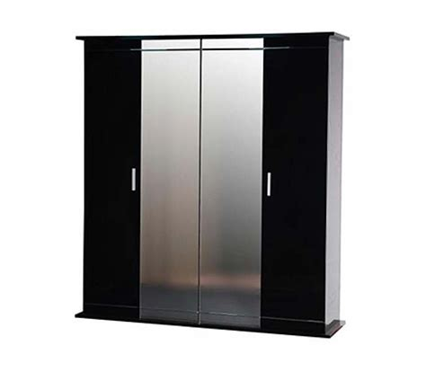 Black Gloss Mirror Wardrobe by Black Gloss Wardrobe Door