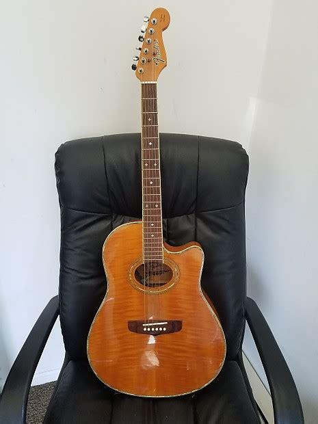 fender montara acousticelectric guitar reverb