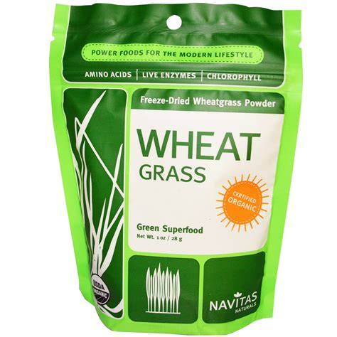Wheatgrass Powder Detox by Navitas Naturals Organic Wheat Grass Freeze Dried