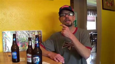 light vs bud light taste challenge 1 bud light vs coors light vs miller