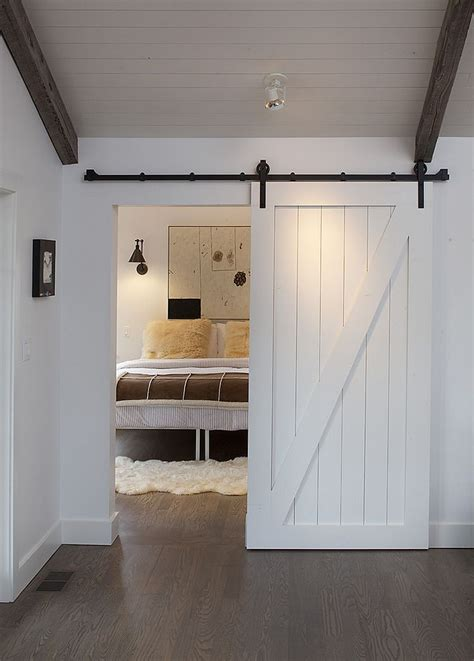 sliding door for bedroom entrance 25 bedrooms that showcase the beauty of sliding barn doors