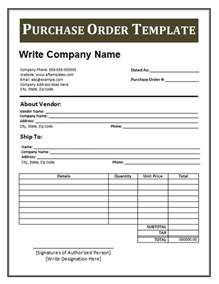 Purchase Order Template by 39 Free Purchase Order Templates In Word Excel Free