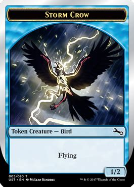 Storm Crow Meme - crow storm mtg goldfish spoiler the rumor mill magic