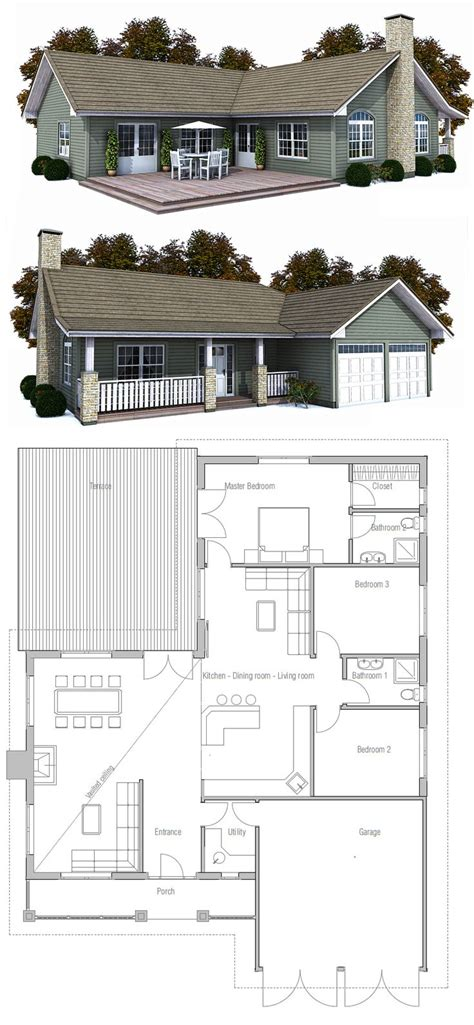 2 small house plans 25 best ideas about small house plans on