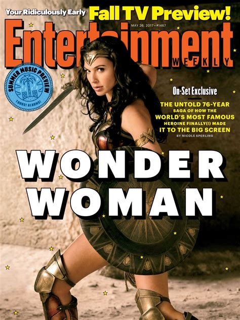 magazine may 2017 gal gadot in entertainment weekly magazine may 2017