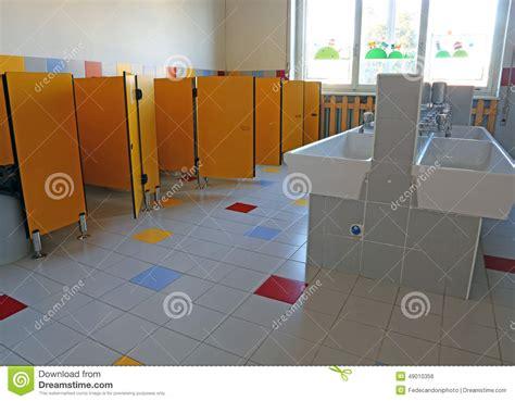 Bagno Della Scuola by Bagno Della Scuola Materna Fotografia Stock Immagine