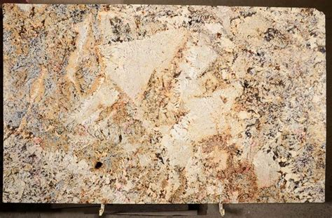 Delicatus Gold Granite Countertops by New Arrivals Granite Countertop Warehouse