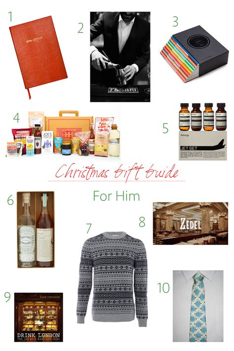gift guide gifts for him mirandasnotebook