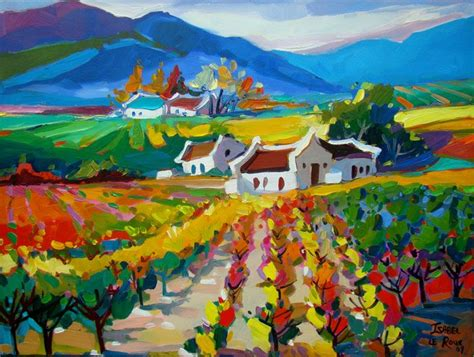 Landscape Artists In South Africa Le Roux South Artist Landscapes Gallery
