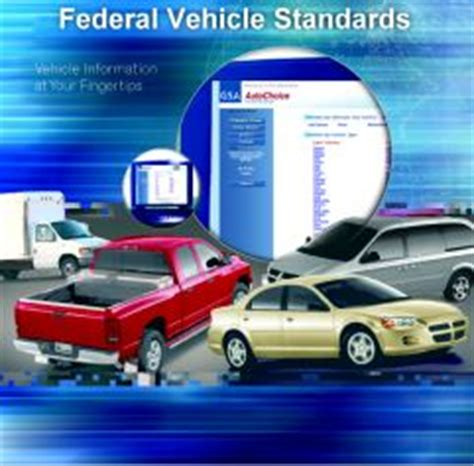 federal vehicle standards