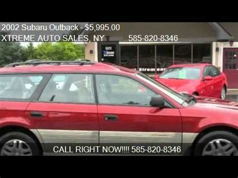 all weather package subaru outback 2002 subaru outback wagon w all weather package for
