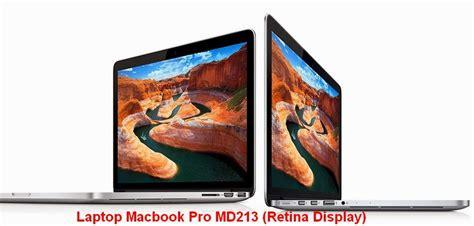 Laptop Apple Beserta Spesifikasinya laptop apple macbook pro me665 retina display