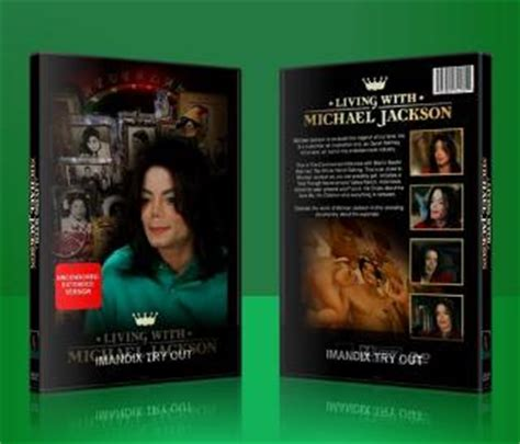 with dvd 2003 documentary quot living with michael jackson quot on dvd