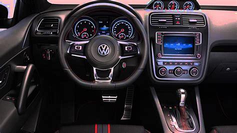 scirocco volkswagen interior el volkswagen scirocco gts llega en julio a la