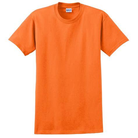 T Zone T Shirt Oranye by Gildan 2000 Ultra Cotton T Shirt S Orange Fullsource