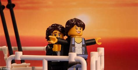 film titanic lego morgan spence recreates cinema s most unforgettable scenes