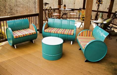 furniture recycling 12 ways to recycle oil barrels into winsome furniture