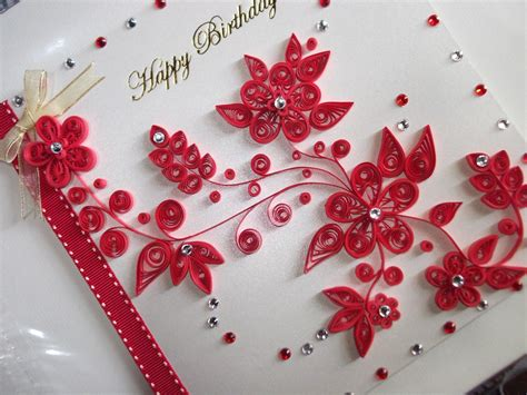 how to make quilled cards quilling birthday cards alanarasbach