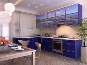 Pictures Of Blue Kitchen Cabinets Modern Blue Kitchen Cabinets Pictures Design Ideas